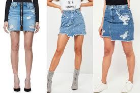 denim skirts hadid s denim mini skirt is a summer closet staple