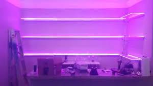 Ikea Led Light Strip by Led Bar Shelf Lighting Youtube