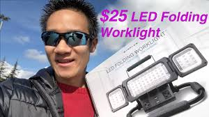 winplus led utility light review winplus led folding worklight unboxing mini review youtube