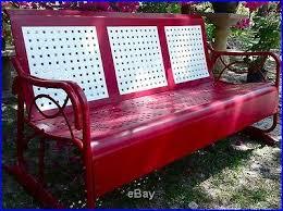 38 best porch glider u0027s images on pinterest metal furniture