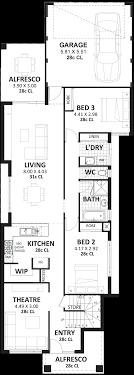 3 Bedroom 2 Storey Home Designs Perth