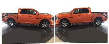 Dodge Ram 750 - product dodge ram 1500 set of monster splash decals fits models