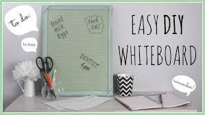organisation diy decor diy whiteboard youtube