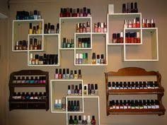 wall racks for nail polishes the best room of the house for a