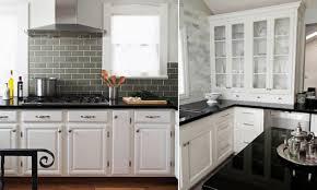 Black Countertop Kitchen Moroccan Interior Design White Kitchen Cabinets Black Countertops