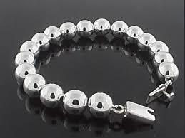 silver bead chain bracelet images Mexican sterling silver bracelets wholesale jpg