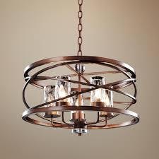 Foyer Lighting Ideas by Eternity Etruscan Bronze 24