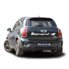 mini cooper s countryman all4 supersprint full exhaust revving