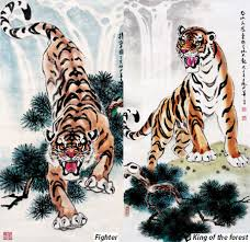 sketching tiger meaning china org cn