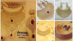 wedding jewelry necklace sets images Stylish bridal necklace sets 2017 wedding jewelry for brides jpg