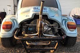 baja car blue thunder 1973 volkswagen baja bug