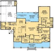 southern style house plans 4078 square foot home 1 story 4
