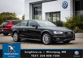 used audi used audi a4 for sale in winnipeg auto haus volkswagen