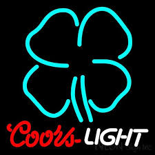 vintage coors light neon sign coors light beer neon signs neon sign inc
