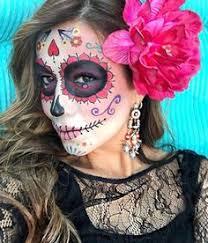 catrina costume méxico catrina trival zentangle rosa cukrowe czaszki