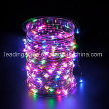copper wire led lights china starry string lights rgb color led s on a flexible copper wire