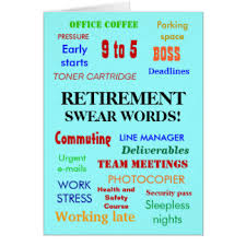 words for retirement cards retirement cards invitations zazzle au