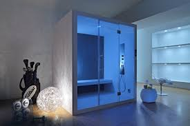 sauna in bagno doccia sauna caldo benessere wellness