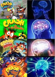 Crash Bandicoot Meme - rilla crash bandicoot memes facebook