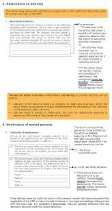 Customs Power Of Attorney Template by Clic Enduring Powers Of Attorney
