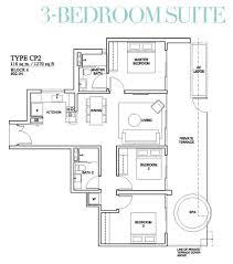 3 bedroom dual key suite type cdk 1378 sqft floor plan the venue