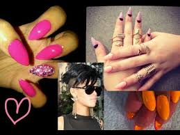 how to get claw stiletto nails youtube