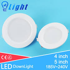 5 inch led recessed lighting ultra thin 4inch 5inch led downlight 220v 3w 7w recessed light l