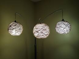 String Lamps Thread Lampshade 6 Steps With Pictures