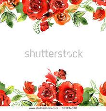 rose border stock images royalty free images u0026 vectors shutterstock