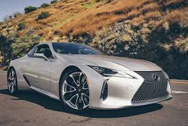 new lexus hybrid coupe review 2017 lexus lc 500 gear patrol