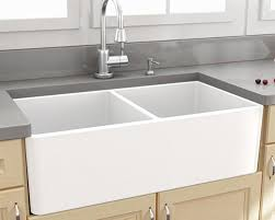 Durable Fireclay Kitchen Sinks By Nantucket - Fireclay apron front kitchen sink