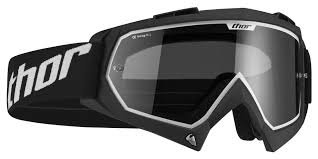 tinted goggles motocross thor enemy sand goggles revzilla