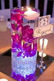 vase rentals wedding vase rentals lighted centerpiece with reserved sign