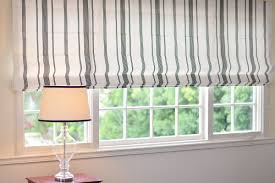 contemporary cotton roman shades drapestyle com