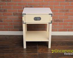 campaign nightstands etsy