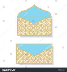 gift money envelopes eid money packet stock vector 638521621