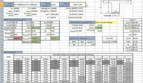 concrete design excel sheet concrete design xls rcc column