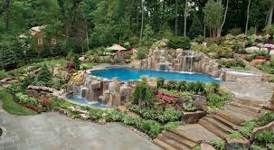 pool landscaping pictures thediapercake cheap ideas for back yard