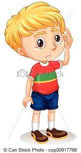 boy clipart boy with sad illustration clip vector search