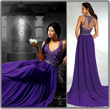 20 gorgeous wedding gowns in shades of purple tagweddings