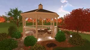 landscaping software gallery landscape design with gazebo idolza