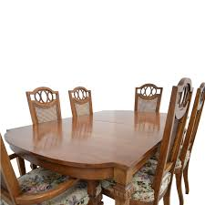 italian dining room furniture 43 off italian dining set with leaf extensions and floral