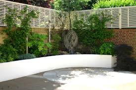 garden ideas garden design patio with concrete tiles material and