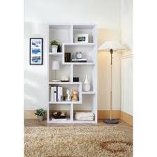 amazon com masima unique bookcase display cabinet in white