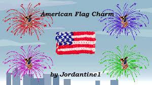 grid pattern alpha new american flag charm how to read a grid pattern alpha loom