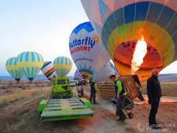 butterfly balloons rising with the sun ballooning cappadocia conversant