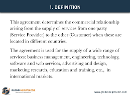 international services agreement template