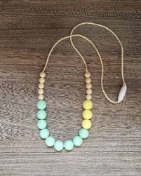 silicone bead necklace images 125 best silicone beads images teething necklace jpg