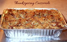 thanksgiving casserole a bit of heaven on a plate