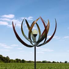garden windmills metal home outdoor decoration